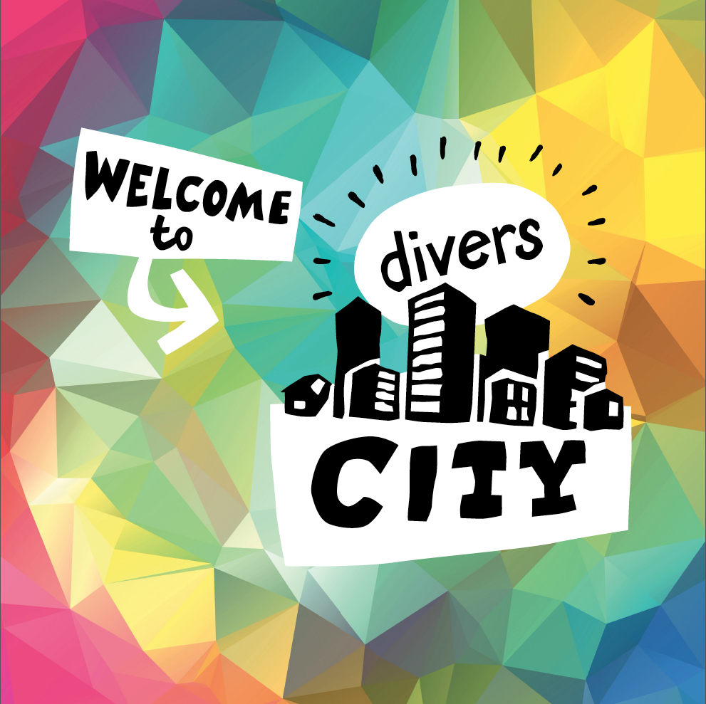 Logo Welcome to diversCITY