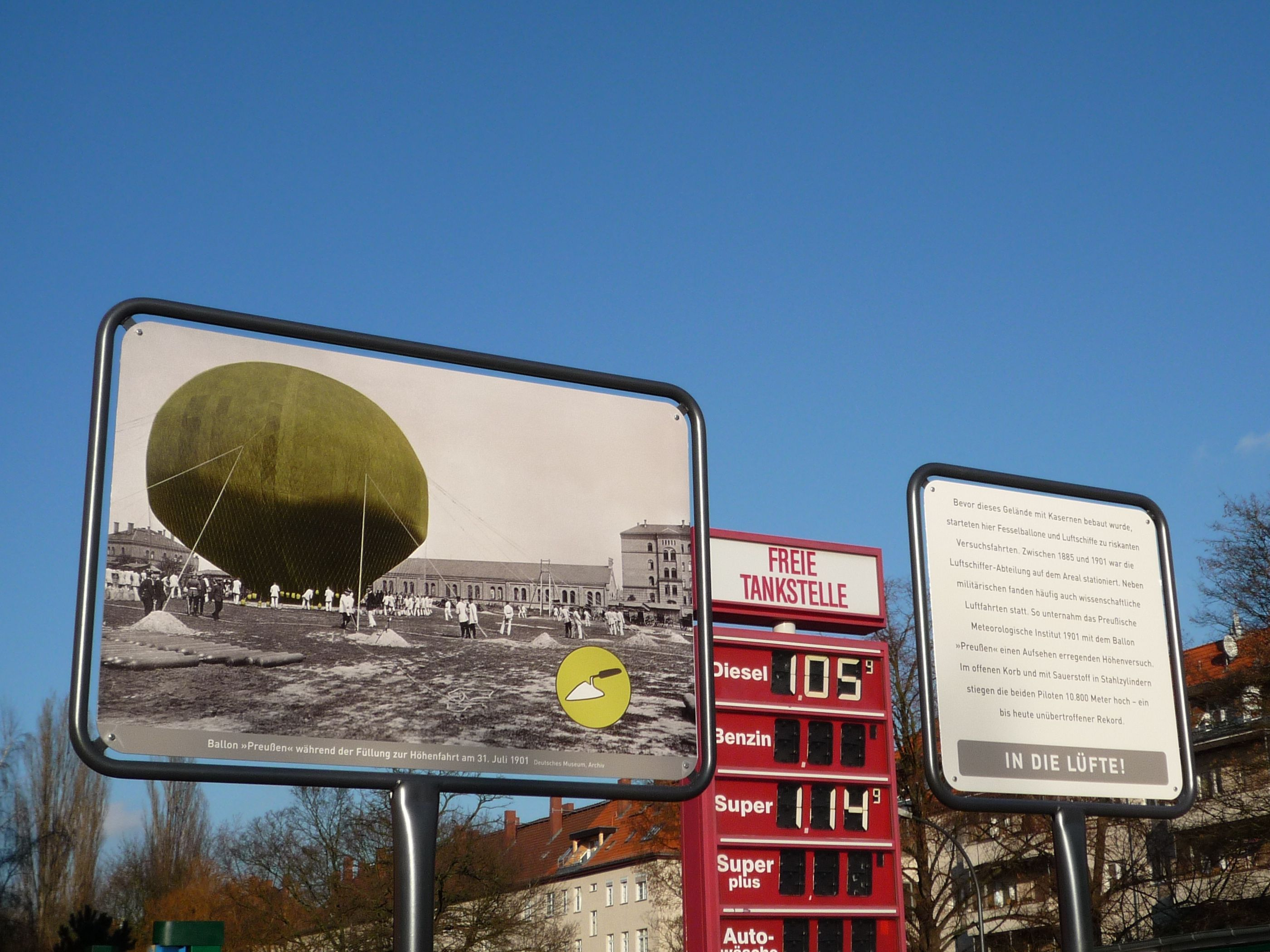 Geschichtsparcours Papestraße